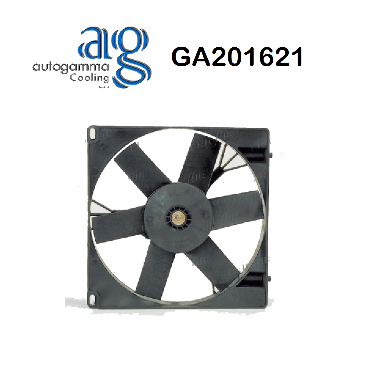 COOLING FAN ENGINE PEUGEOT 305 AUTOGAMMA FOR 125088