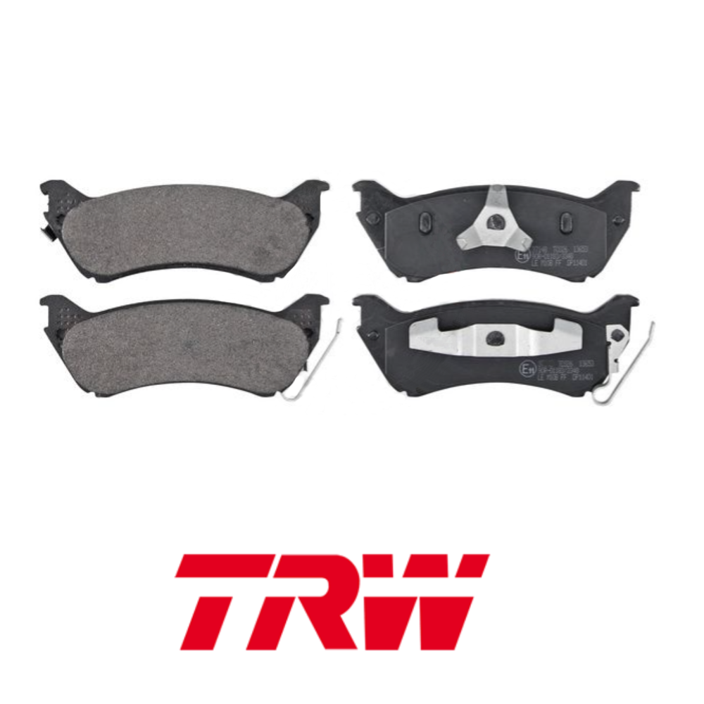 REAR BRAKE PADS SERIES KIT MERCEDES-BENZ M-CLASS TRW GDB1379