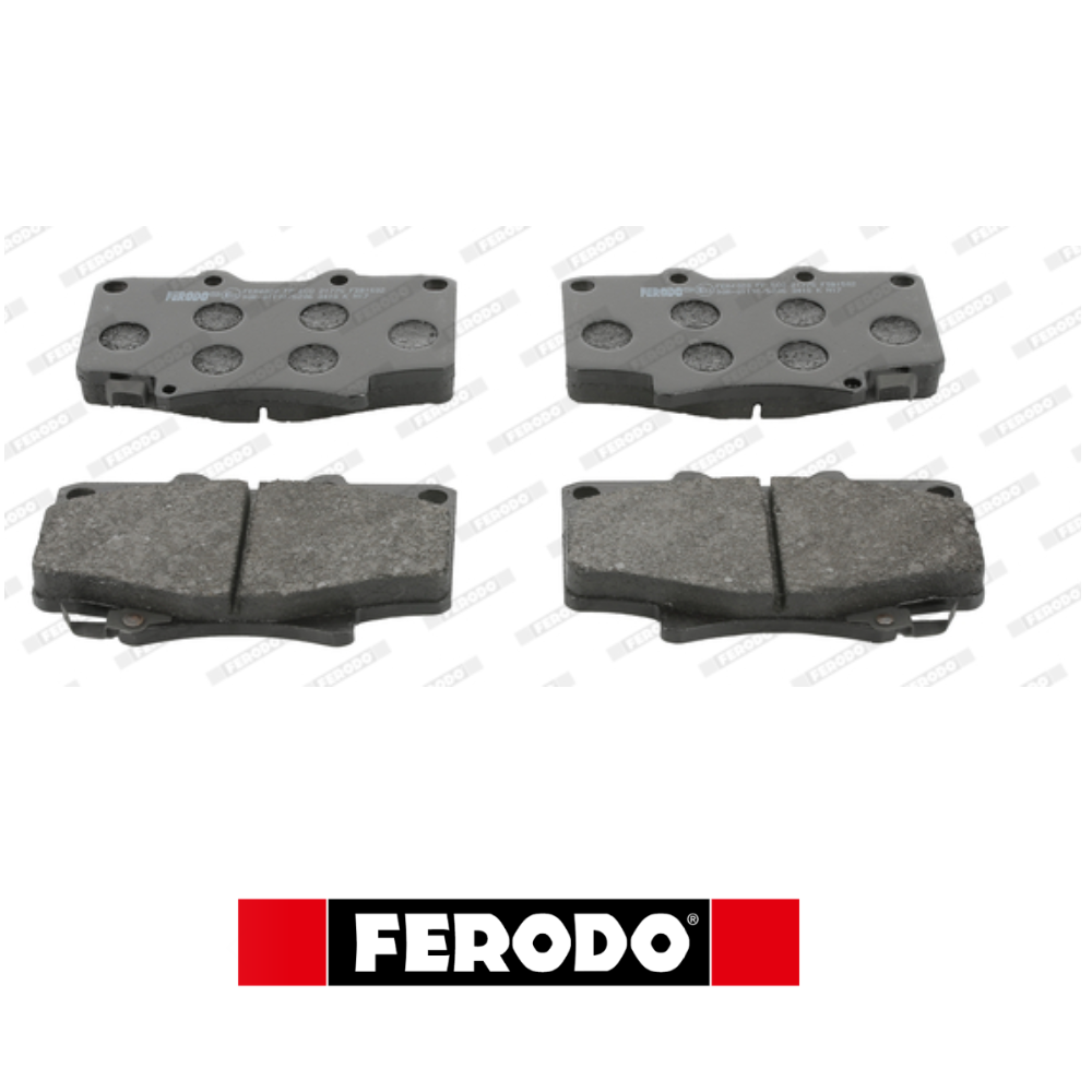 FRONT BRAKE PADS SET KIT TOYOTA LAND CRUISER FERODO FDB1502
