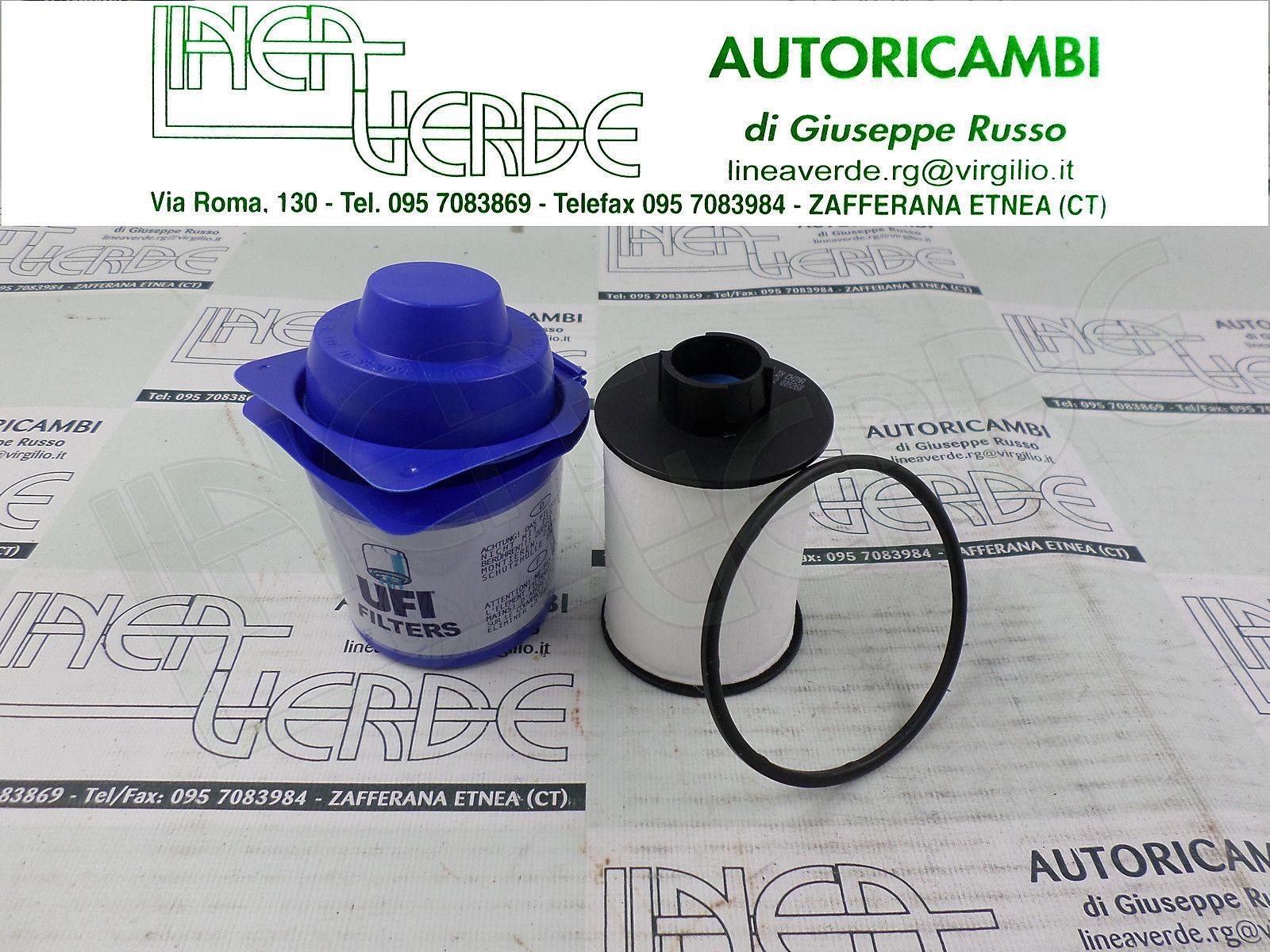 Ufi Filters 60.H2O.00 Filtro in Linea per Diesel