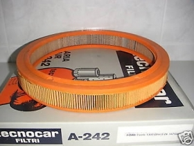 FORD FIESTA 1.3 1.6 xR2 AIR FILTER TECNOCAR A242