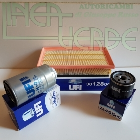 SERVICE KIT FILTERS UFI: OIL - AIR - DIESEL ALFA 147 1.9 JTD