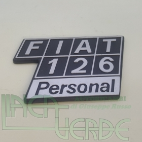 LOGO - ABBREVIATION FOR FIAT 126 PERSONAL PLASTIC