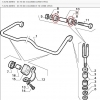 RUBBER-ROLL BAR ALFA 75 - 90 - ALFETTA - GIULIETTA FOR 60521366