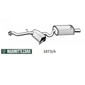 REAR SILENCER ZARA ALFA ROMEO 145 FOR 60612813 - 60611490