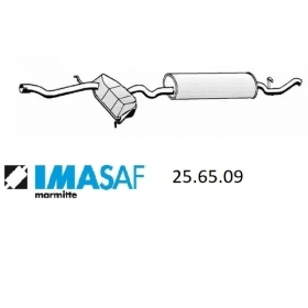 REAR SILENCER IMASAF 256509 FIAT TEMPRA S. W. FOR 7662701 - 7709265