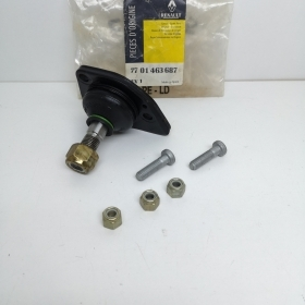 HEAD BALL JOINT RIGHT SUSPENSION RENAULT ORIGINAL 7701463687