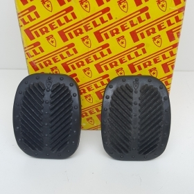 PAIR RUBBER PEDAL COVER, PIRELLI, FIAT 126 - 500 FOR 4130367