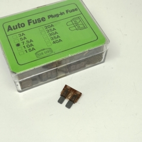 KIT 50 FUSES CAR 7.5 AMPS 12V