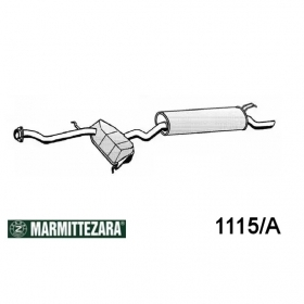 REAR SILENCER ZARA LANCIA DEDRA FOR 46409684 - 7737475 - 7775946