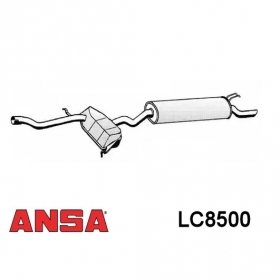 MUFFLER REAR ANSA LANCIA DEDRA 1.9 TDS FOR 7775950