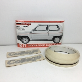 "KIT ADHESIVE REAR SIDE ""COLLEGE"" HAVANA FIAT PANDA"
