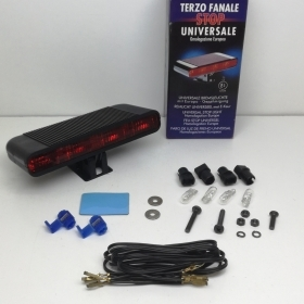 KIT THIRD TAILLIGHT STOP THE UNIVERSAL APPROVAL OF THE EUROPEAN