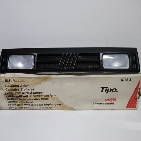 GRILL WITH FOG LIGHTS, FIAT ORIGINAL TYPE 5897400