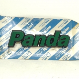 ADHESIVE MODEL CODE GREEN FIAT PANDA ORIGINAL 7697196