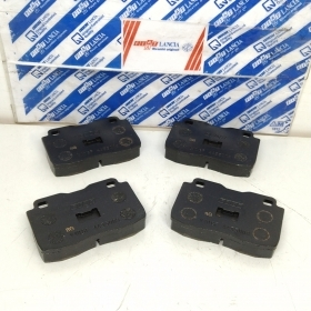 KIT SERIES FRONT BRAKE PADS FIAT 127 D - FIORINO - 147 ORIGINAL 4435009