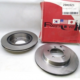 PAIR REAR BRAKE DISC MITSUBISHI 3000 GT COUPE REDLINE FOR MB895363