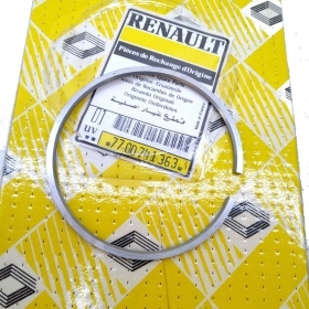 END SEGMENT PISTON STD RENAULT CLIO - R19 - MEGANE ORIGINAL 7700741363