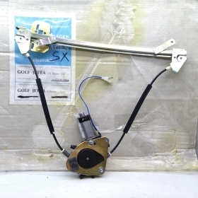 WINDOW REGULATOR ELECTR. FRONT LEFT SIDE WITH MOTOR VW GOLF - JETTA FOR 191837401C