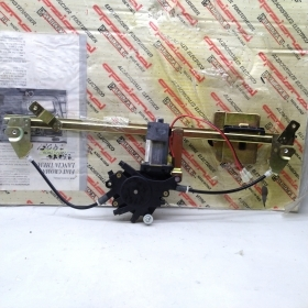 WINDOW REGULATOR ELECTR. FRONT RIGHT SIDE WITH MOTOR FIAT CROMA - LANCIA THEMA FOR 82438387