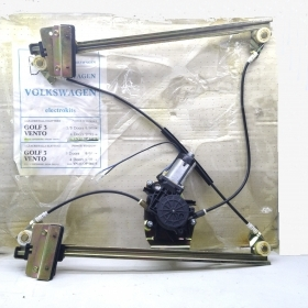 WINDOW REGULATOR ELECTR. FRONT RIGHT SIDE WITH MOTOR VW POLO - GOLF III FOR 1H0837462A