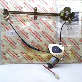 WINDOW REGULATOR ELECTR. FRONT RIGHT SIDE WITH STARTER MOTOR AUDI 80 POLYTECHNIC FOR 893837398A