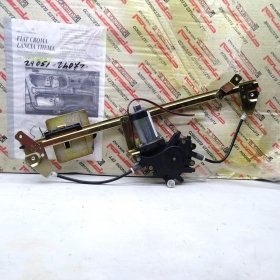 WINDOW REGULATOR ELECTR. FRONT LEFT WITH MOTOR FIAT CROMA - LANCIA THEMA FOR 82415680