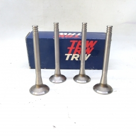 KIT 4 EXHAUST VALVES VW GOLF - SCIROCCO - AUDI 100 TRW FOR 049109611F