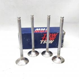 KIT 4 INTAKE VALVE FOR FIAT RITMO - REGATA TRW FOR 4368843