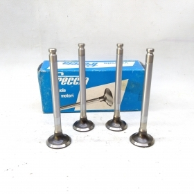 KIT 4 EXHAUST VALVES FIAT FIORINO - 127 - A - A112 ARROW TO 4377979
