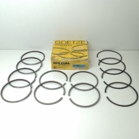 SERIES SEGMENTS PISTON RINGS STD FIAT 131 - 132 - ALFA 75 2.0 D GOETZE SP5035STD