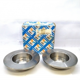 PAIR OF BRAKE DISCS AUDI 80 - 90 - 100 - COUPE' - GRAF FOR 443615601