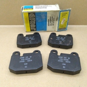 BRAKE PADS KIT FRONT BMW 3 OPEL - ASCONA - MANTA JURID FOR 34111117002