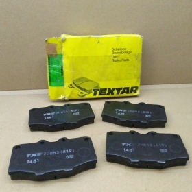BRAKE PADS KIT FRONT TOYOTA LAND CRUISER TEXTAR FOR 0446535090