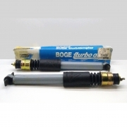 PAIR OF FRONT SHOCK ABSORBERS ALFA 75 - 90 - GTV BOGE FOR 60557154