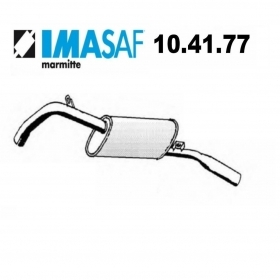 ALFA ROMEO ALFETTA IMASAF REAR SILENCER FOR 60732982