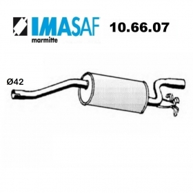 REAR SILENCER ALFA ROMEO 33 -