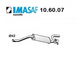 ALFA ROMEO 33 REAR SILENCER - ALFASUD IMASAF FOR 50030030