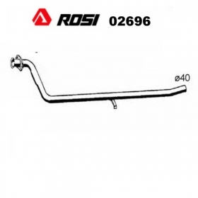 CENTRAL EXHAUST GAS HOSE AUTOBIANCHI Y10 - LANCIA Y10 1.0 FIRE ROSI FOR 7586286