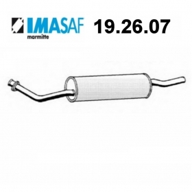 BMW 3 SERIES IMASAF REAR SILENCER FOR 18121175026