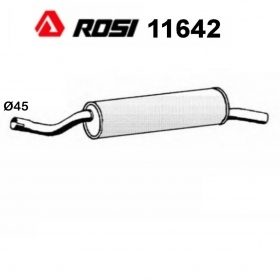 BMW 3 SERIES ROSI REAR SILENCER FOR 18101719212