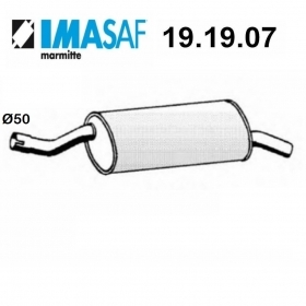 BMW 3 SERIES IMASAF REAR SILENCER FOR 18121176986
