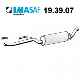 BMW 5 SERIES IMASAF REAR SILENCER FOR 18102242170