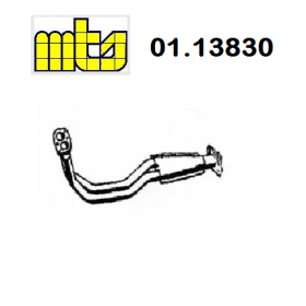 FRONT EXHAUST GAS PIPE FIAT UN