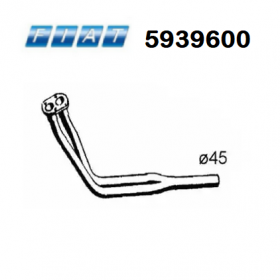FRONT EXHAUST GAS PIPE FIAT RI