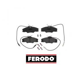 FRONT BRAKE PADS SERIES KIT PEUGEOT 406 - 406 BREAK FERODO FDB1062