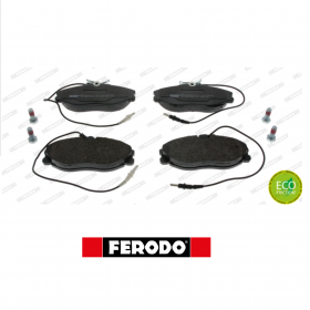 FRONT BRAKE PADS SERIES KIT PEUGEOT 306 - 406 - 607 FERODO FDB1063