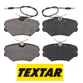FRONT BRAKE PAD SET KIT PEUGEOT 405 II TEXTAR 2144319315