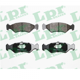 FRONT BRAKE PADS SERIES KIT FORD FIESTA LPR 05P625