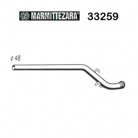CITROEN CX 2500 DIESEL ZARA 33259 REAR EXHAUST GAS PIPE